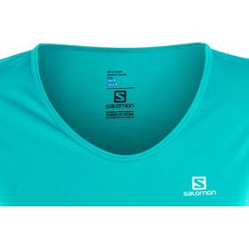 Salomon Mazy Camiseta Manga Corta Mujer, enamel blue